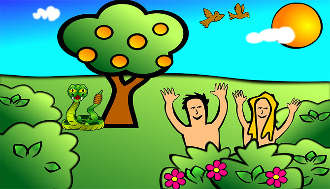 Adam and Eve Bible Story