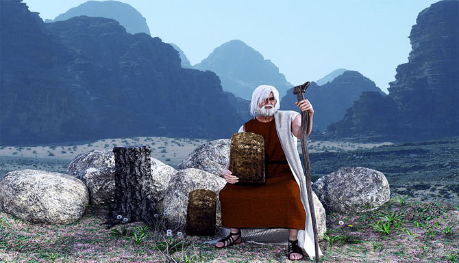 The Story of Moses In The Bible